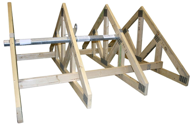 TriTruss Woodframe Permanent Roof Anchor-1